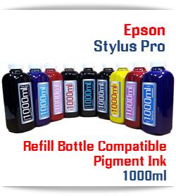 Refill Ink Epson Stylus Pro Printers 1000ml