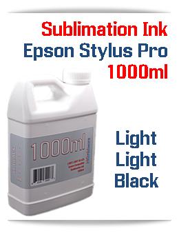 Light Light Black 1000ml Sublimation Ink Epson Stylus Pro Printers
