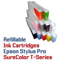 Refillable Printer Ink Cartridges