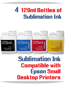 120ml Epson Desktop Sublimation Refill Ink