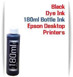 Black 180ml Bottle Dye Ink