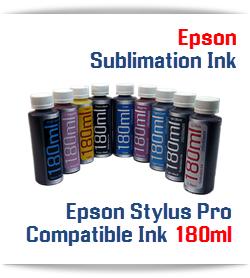 180ml Sublimation Refill ink Epson Stylus Pro Printers