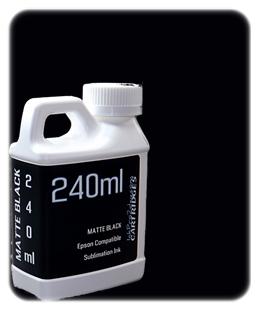 Matte Black 240ml Sublimation Ink Epson SureColor T-Series Printers
