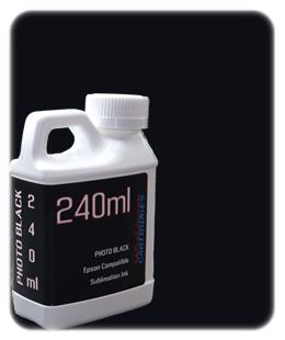 Photo Black 240ml Sublimation Ink Epson SureColor T-Series Printers