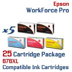 676XL 25 Cartridge Package