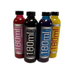 4 180ml Bottles of Refill Pigment Ink