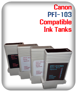 Pfi-103 Canon Compatible Printer Ink Tank