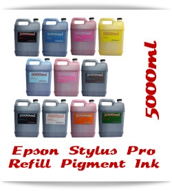 5000ml Refill Printer Ink Epson Stylus Pro