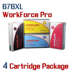 676XL 4 Cartridge Package