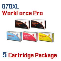 676XL 5 cartridge package