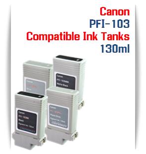 PFI-103 Canon Compatible Pigment Ink Tanks 130ml