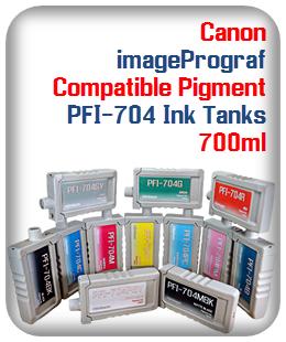 PFI-704 Canon imageProGraf Compatible Printer Ink Tank