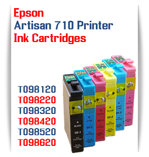 Epson Artisan 710 printer compatible ink cartridges
