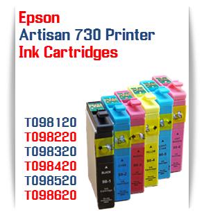 Epson Artisan 730 printer compatible ink cartridges
