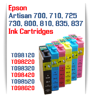 Epson Artisan Compatible ink cartridges