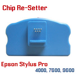 Chip Re-Setter Epson Stylus Pro 7600, 9600 cartridges and Maintenance Tanks
