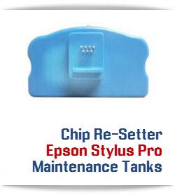 Epson Stylus Pro Maintenance Tank Chip Re-Setter