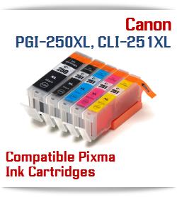 PGI-250, CLI-251 Canon Cartridges