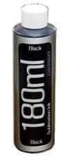 Black Dye Sublimation Ink 180ml Bottle Epson Desktop Printers