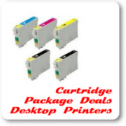 Desktop Printer Cartridge Package Deals