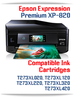 Epson Expression Premium XP-820 Compatible Ink Cartridges