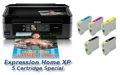Expression Home Xp Quick 5 Cartridge Deal