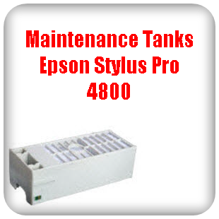 Maintenance Tanks Epson Stylus Pro 4800 printer