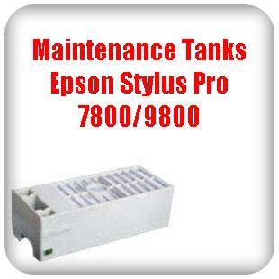 Maintenance Tanks Epson Stylus Pro 7800, 9800