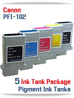 5 Cartridge Package - PFI-102