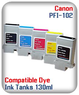 Pfi-102 Compatible Printer Ink Tank Dye Ink