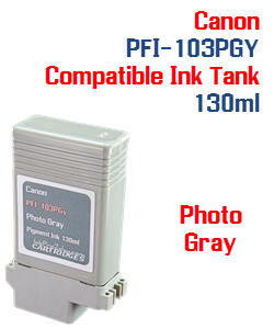 Photo Gray Canon PFI-103PGY Compatible Ink Tank