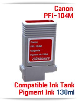 Canon PFI-104M Magenta Pigment Ink Tank