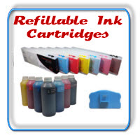 Refillable Printer Ink Cartridges