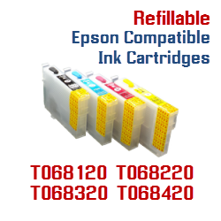 T068 Refillable ink cartridges