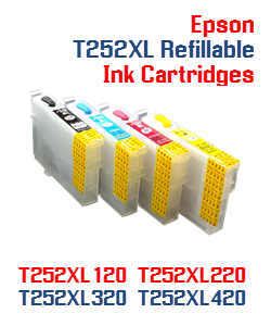 Refillable ink cartridges Epson WorkForce WF-7110, WorkForce WF-7610, WorkForce WF-7620 Printers