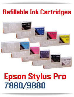 Refillable Cartridges Epson Stylus Pro 7880/9880