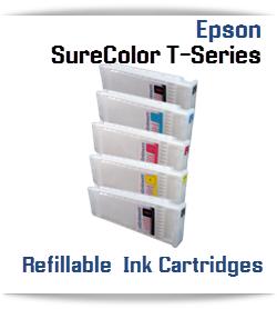 Epson SureColor T-Series Printer Refillable Ink Cartridges 700ml