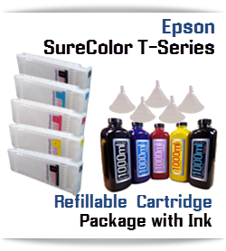 Epson SureColor T-Series Refillable Ink Cartridge package 700ml