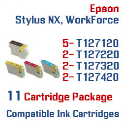 11 Cartridge Package T127