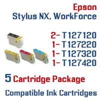 5 Cartridge Package T127