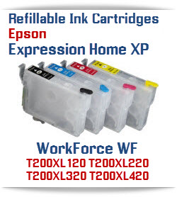 Refillable Expression Home XP Compatible Ink Cartridges