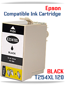 T254XL120 Black Epson WorkForce WF Compatible cartridge