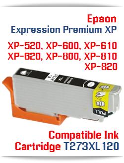 T273XL120 Photo Black High-capacity Expression Premium XP Compatible Ink Cartridge