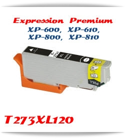 T273XL120 Photo Black Epson Expression Premium XP-610 Printer ink cartridge