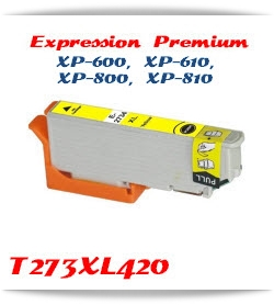 T273XL420 Yellow Epson Expression Premium XP-610 Printer ink cartridge