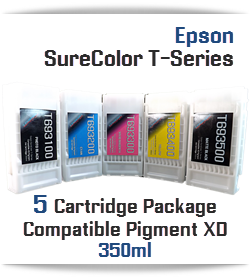EPSON SureColor T-Series 5 cartridge UltraChrome Pigment XD Cartridge package 350ml