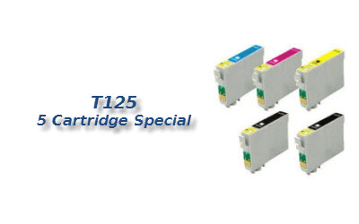 T125 5 cartridge deal
