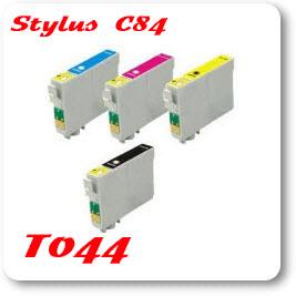 Epson Stylus C84 T044 Epson Compatible Ink Cartridges