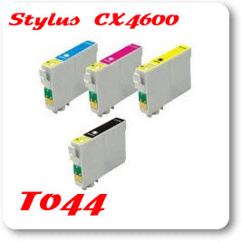 Epson Stylus CX4600 T044 Epson Compatible Ink Cartridges