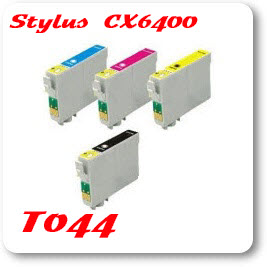 Epson Stylus CX6400 T044 Epson Compatible Ink Cartridges